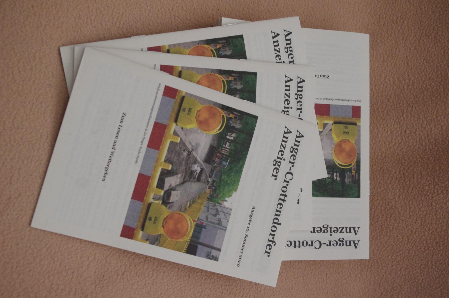 Die Sommer-Ausgabe des Anger-Crottendorfer Anzeiger ist da